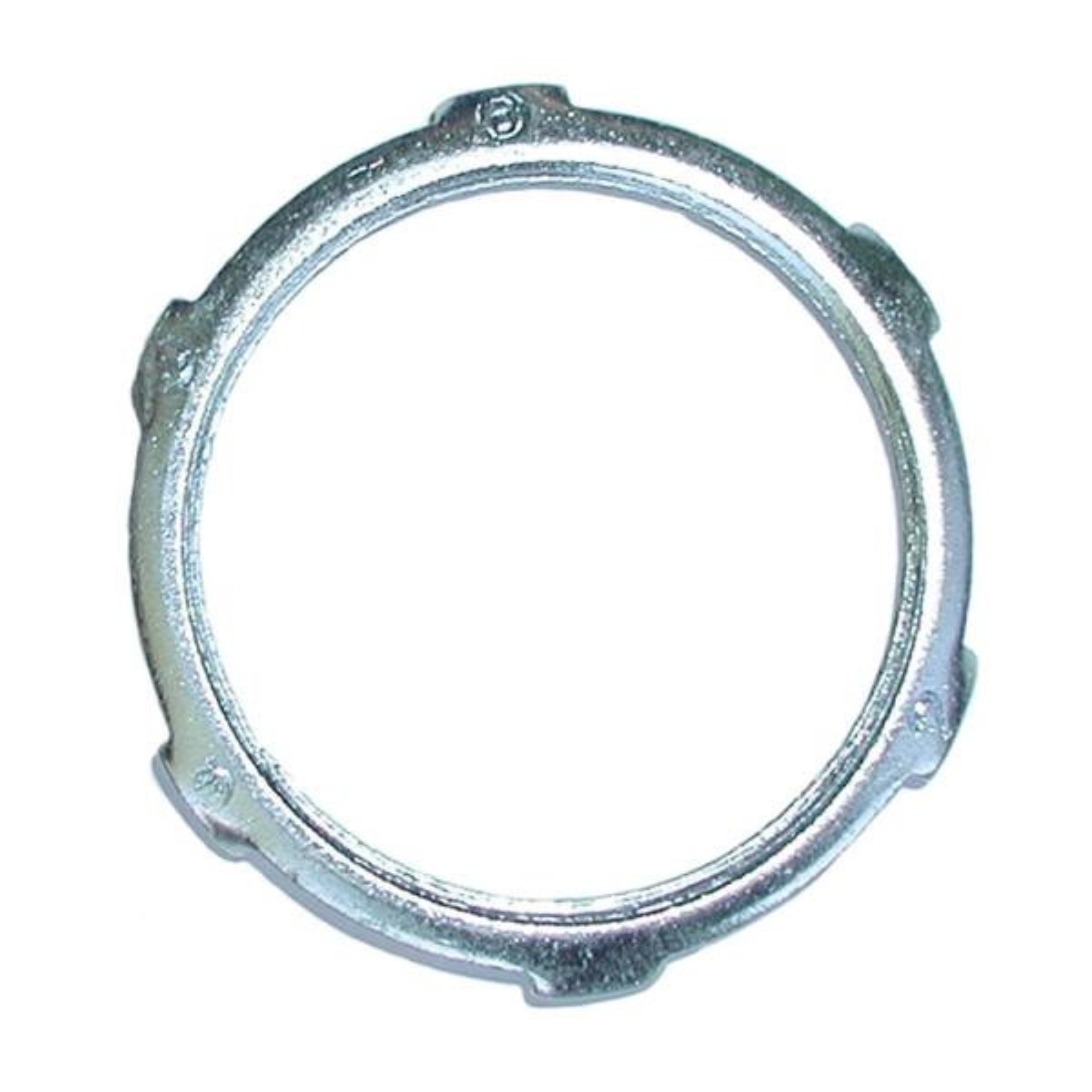 1-1/4 in. Steel Rigid Conduit Locknuts (100-Pack)