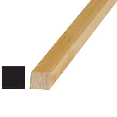 1-1/8 in. x 1-1/8 in. x 96 in. Pine Finger-Jointed S4S Lattice Moulding