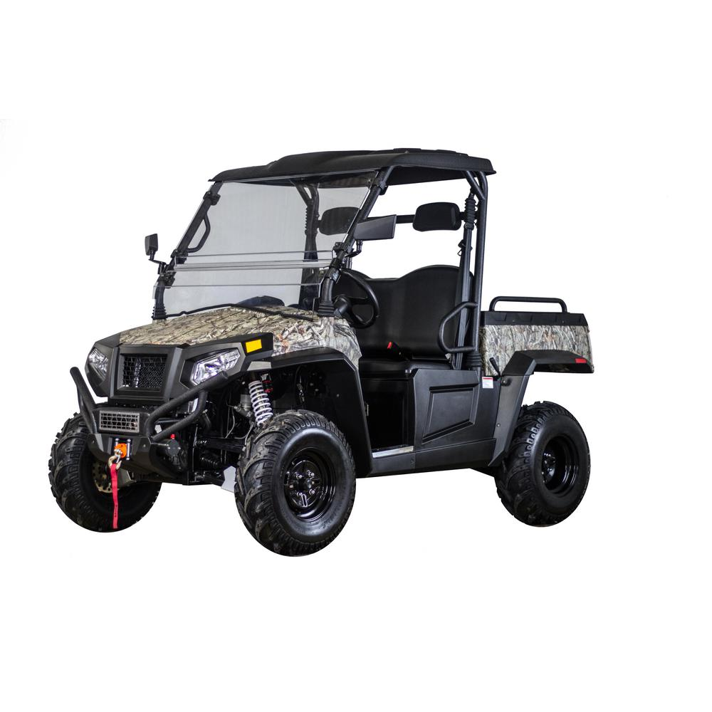 coleman 700 cc utv 4 x 4 side by side ut700 the home depot. Black Bedroom Furniture Sets. Home Design Ideas