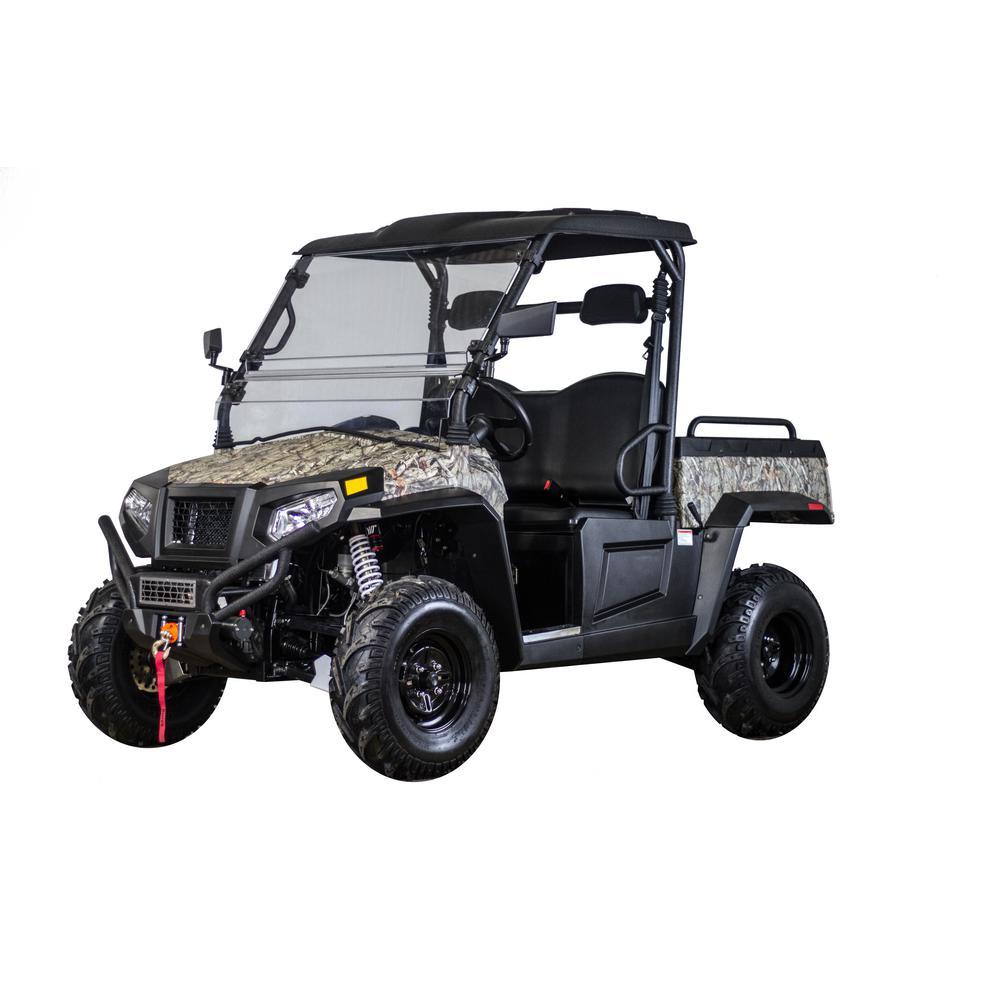 500 4WD 500cc UTV in Camo