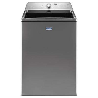 5.3 cu. ft. High-Efficiency Metallic Slate Top Load Washer with Deep Clean Option, ENERGY STAR