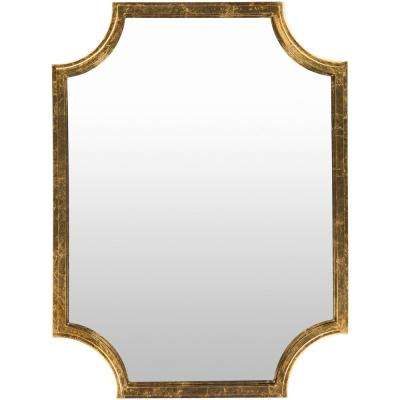 Koud 40 in. x 29.75 in. MDF Framed Mirror