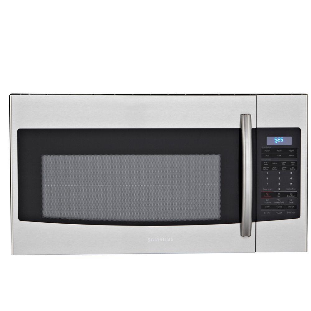 Samsung 1.8 cu. ft. Over the Range Microwave in Stainless Steel with Sensor Cooking-DISCONTINUED