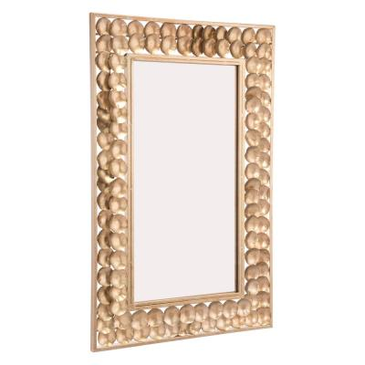 Mini Circles Gold Wall Mirror