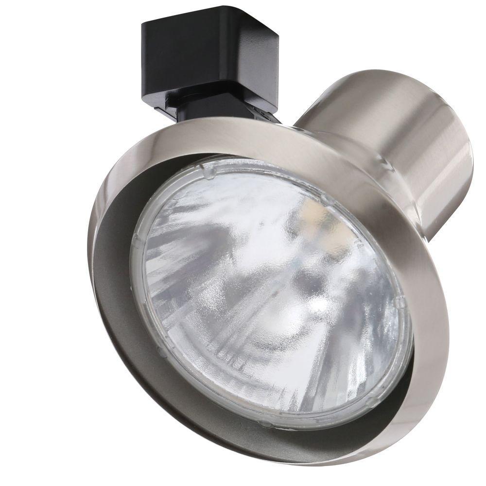 Juno Trac-Lites 50 Watt GU10 Satin Chrome Flare Track Head