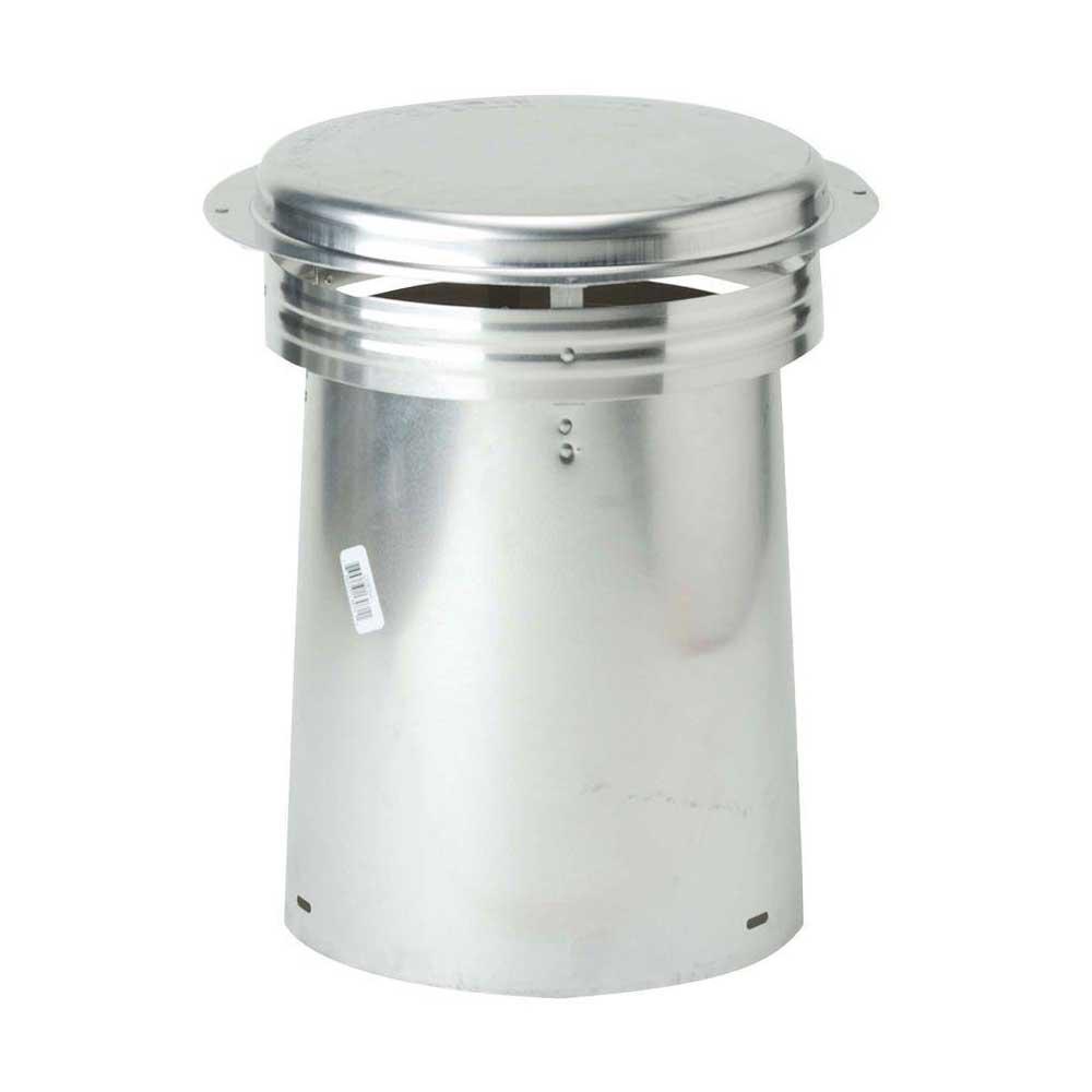 Gibraltar Building Products 8 In Aluminum Code Cap Top