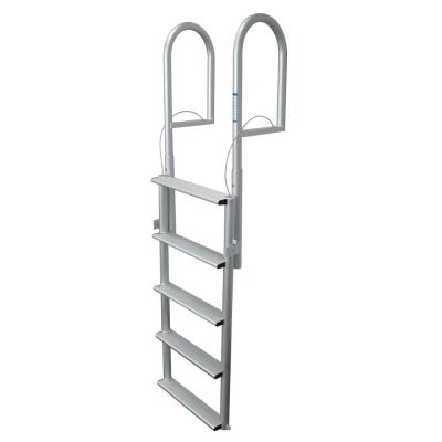 5 Step Wide Lifting Aluminum Dock Ladder