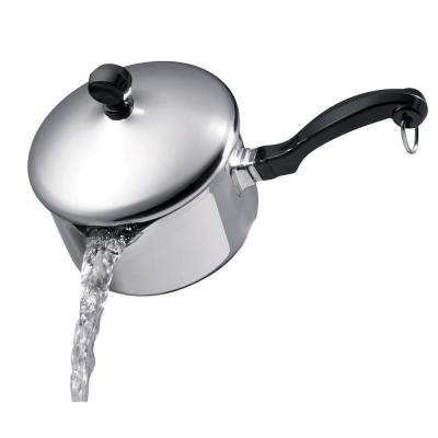Classic Series 1 Qt. Stainless Steel Saucepan