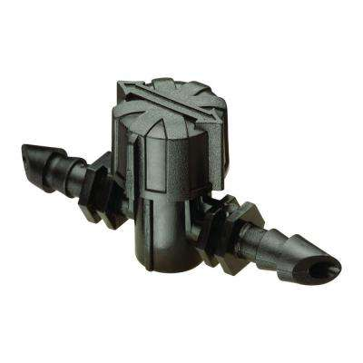 Drip 1/4 in. Barbed On/Off Valve (2-Pack)