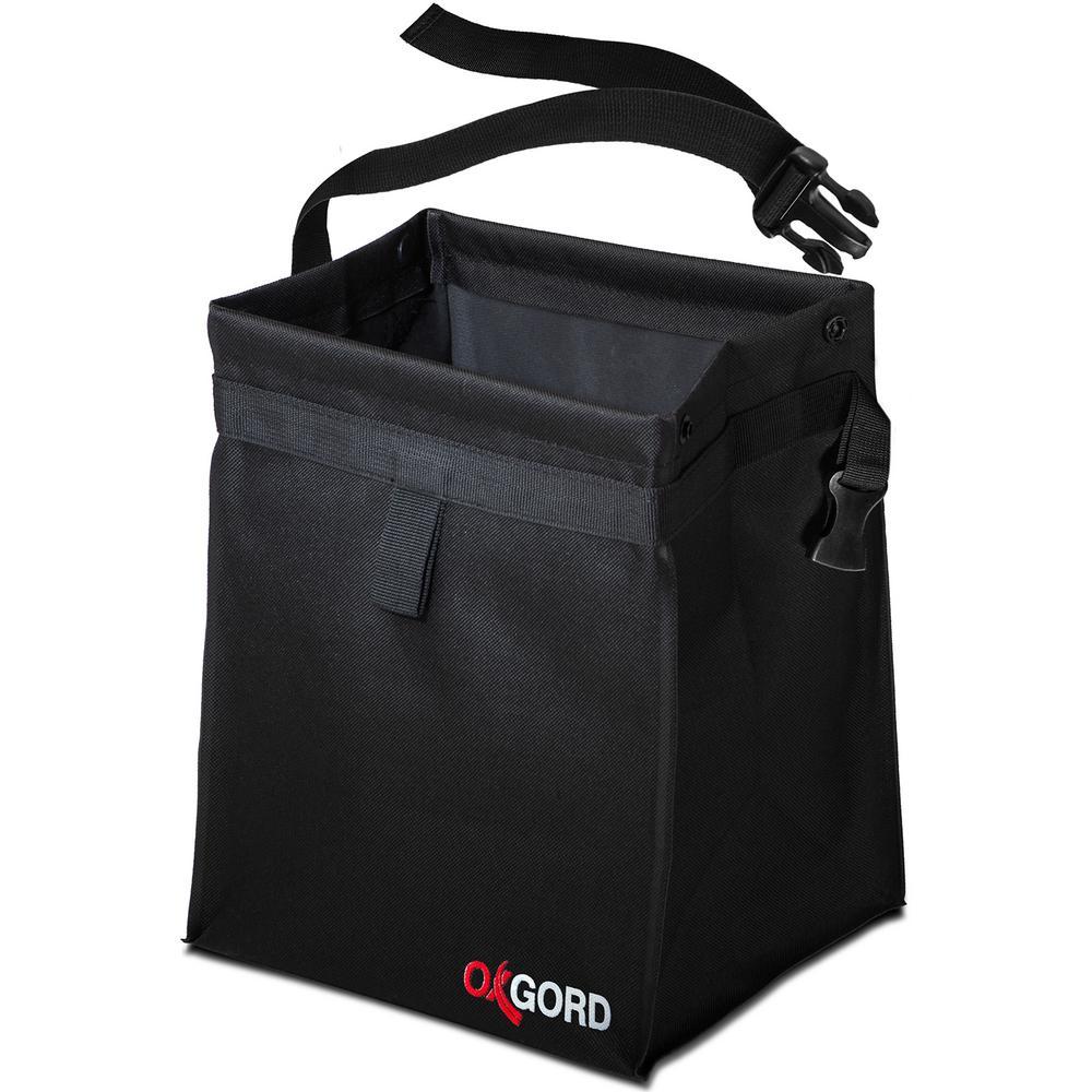 Oxgord Auto Trash Bag Waist Bin With Back Seat Holder