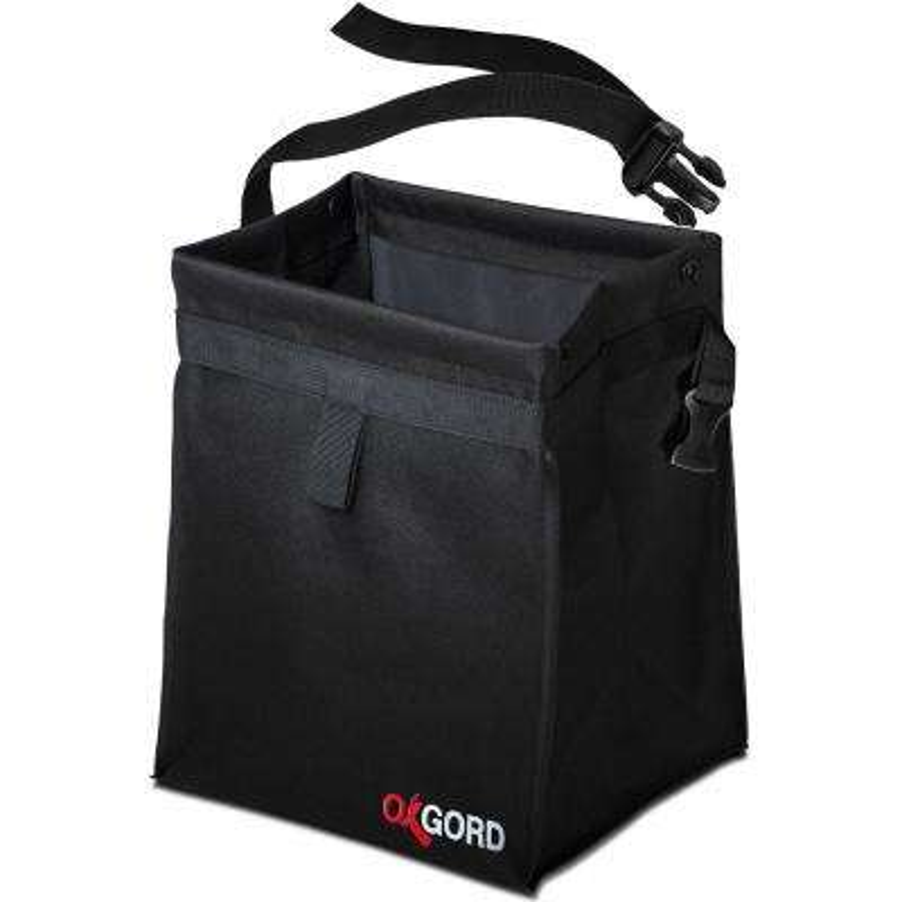 Auto Trash Bag Waist Bin with Back Seat Holder