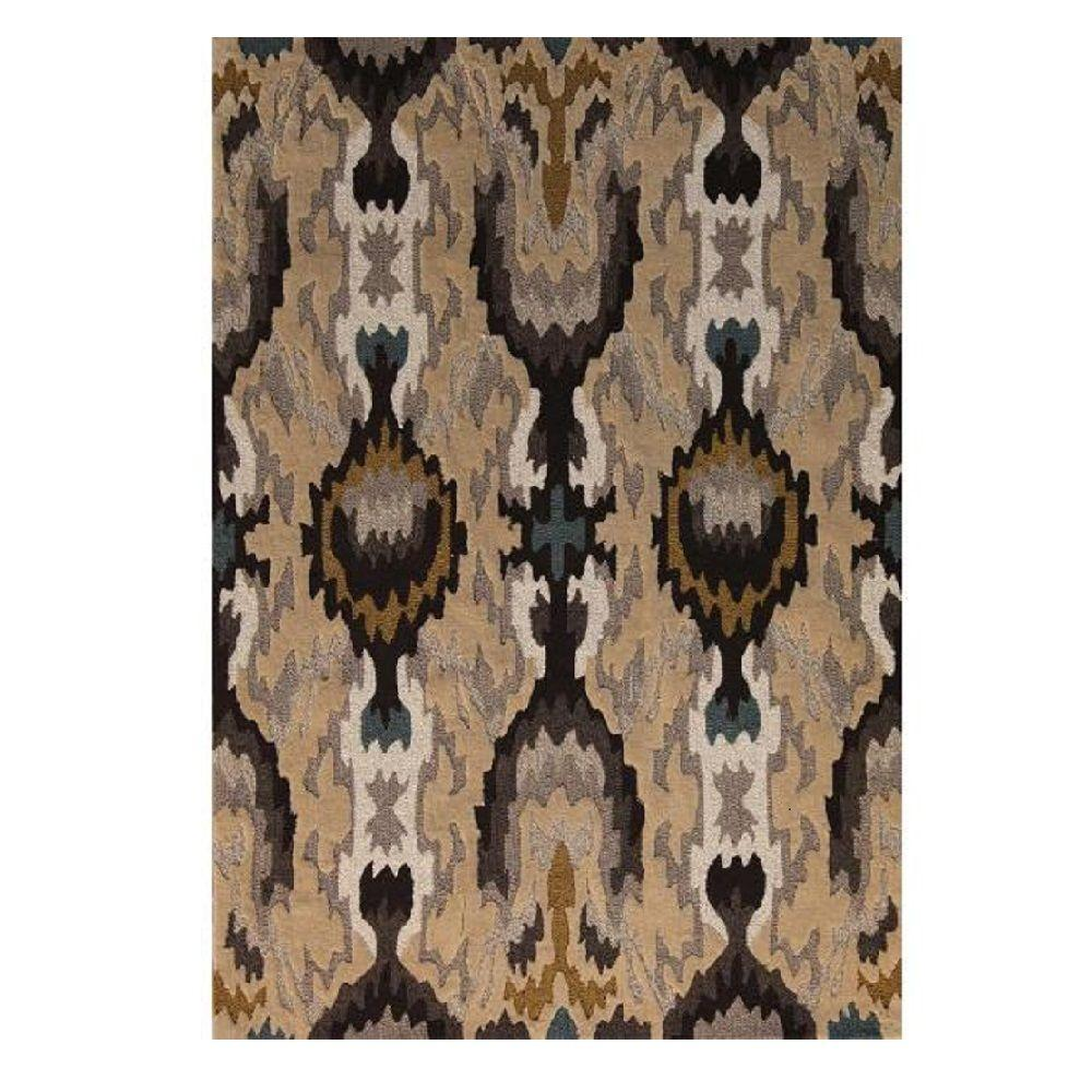 Linon Home Decor Trio Collection Grey And Multi 8 Ft. X 10 Ft. Indoor