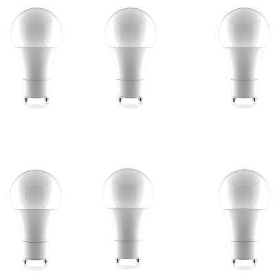 60W Equivalent Soft White A19 Dimmable LED Light Bulb (6-Pack)