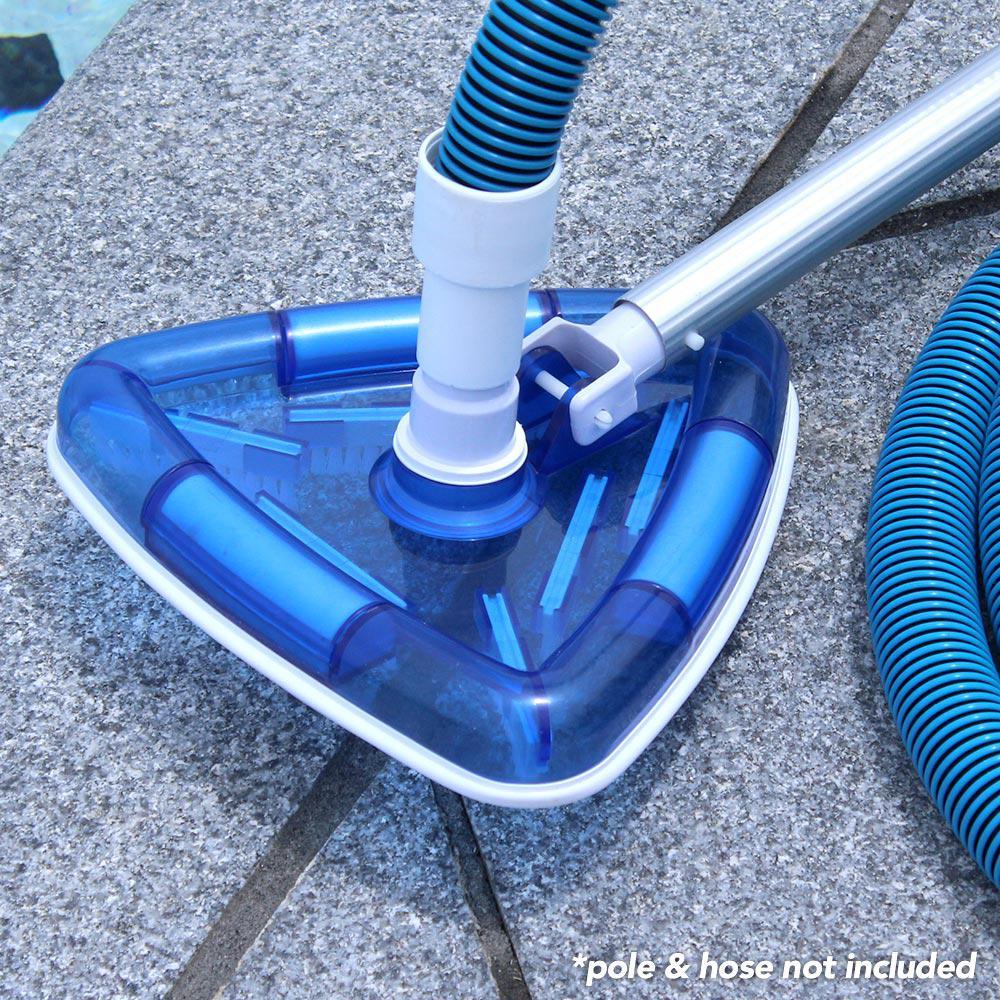 Deluxe Transparent Pool Vacuum Head