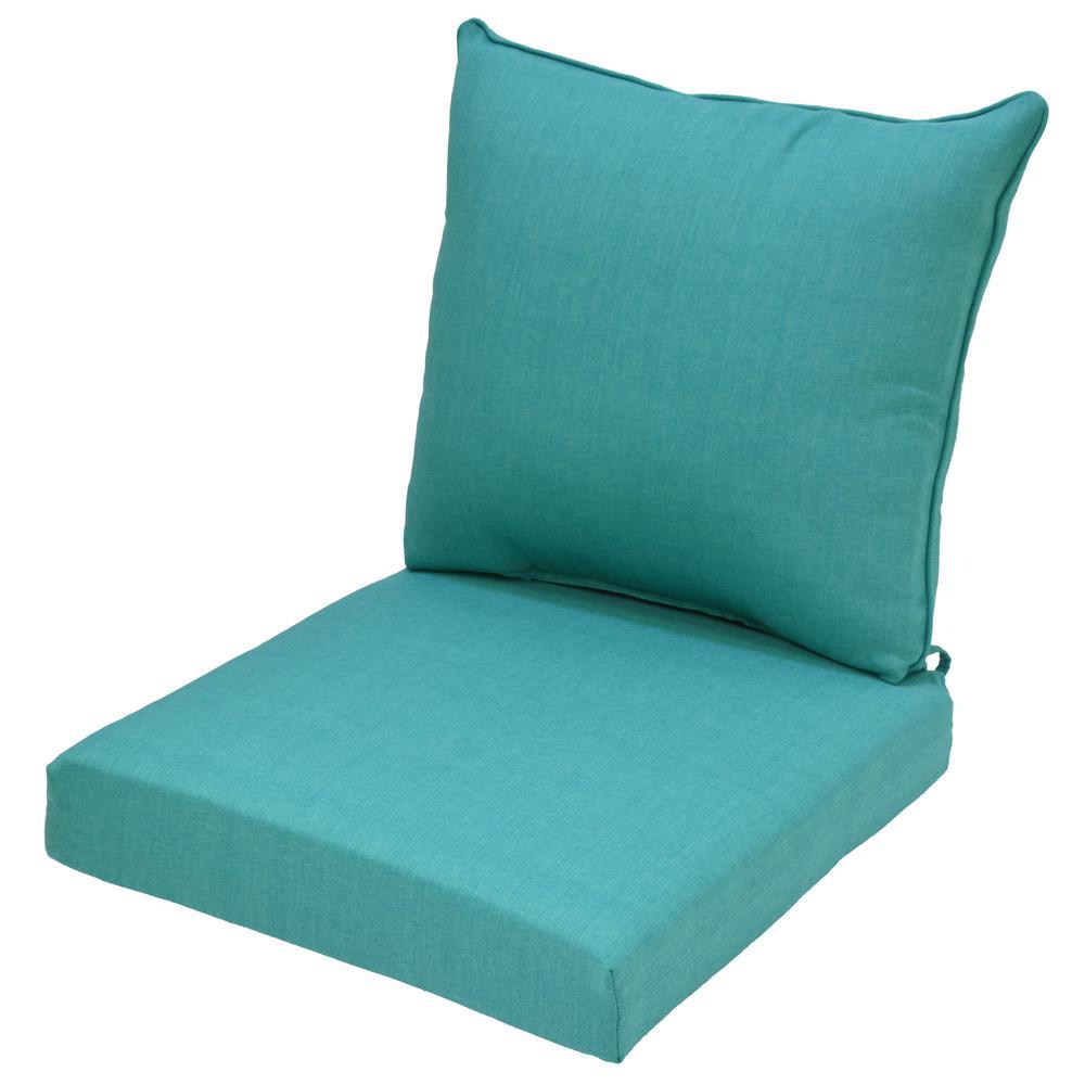 Seaglass 2-Piece Deep Seating Outdoor Lounge Chair Cushion