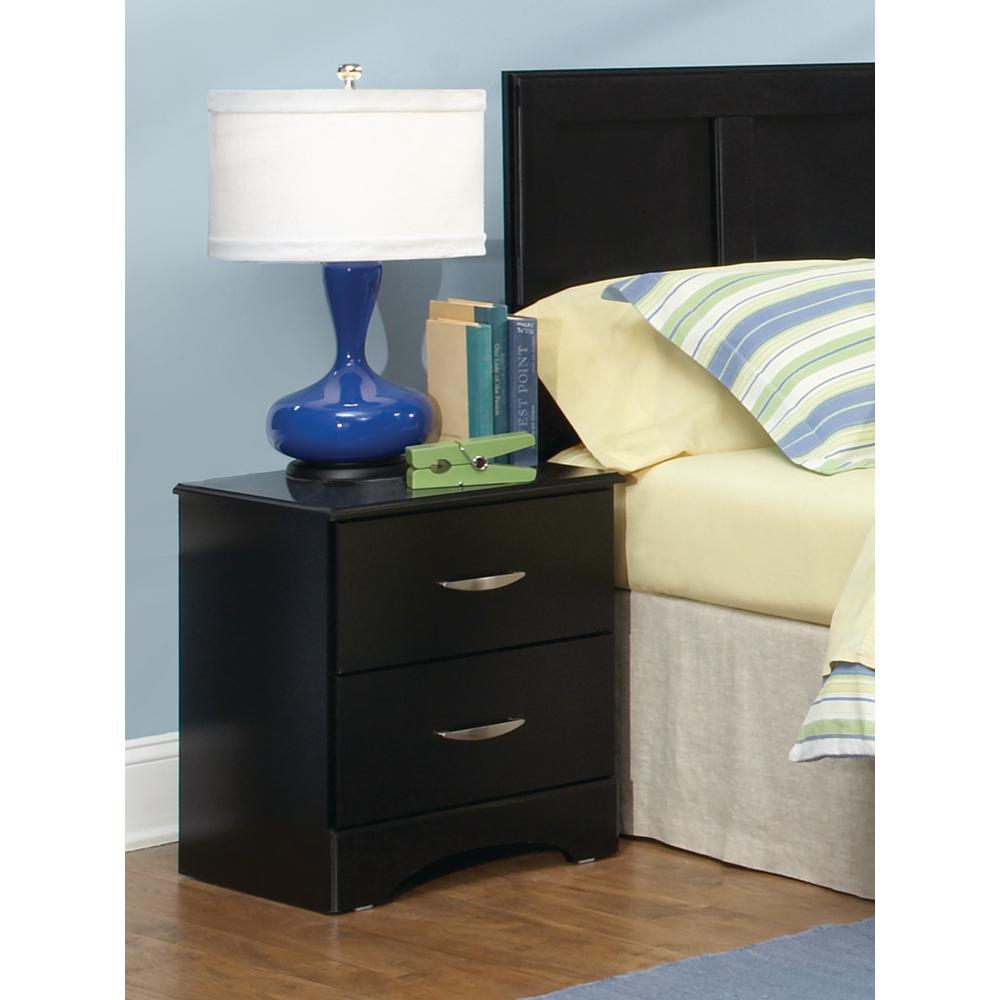 American Furniture Classics Five Piece Black Bedroom set ...