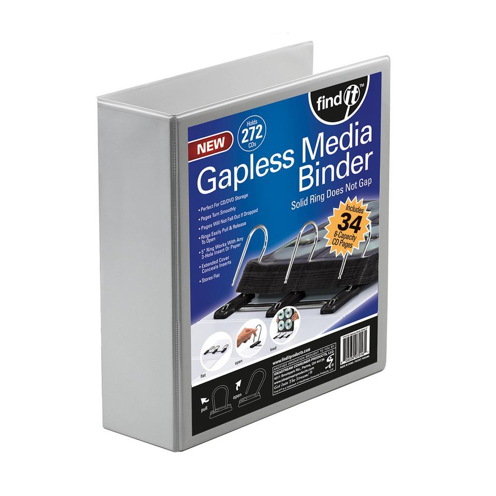 Gapless Media Binder