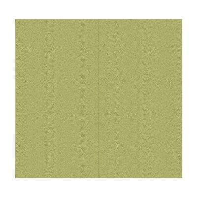 64 sq. ft. Green Olive Fabric Covered Full Kit Wall Panel
