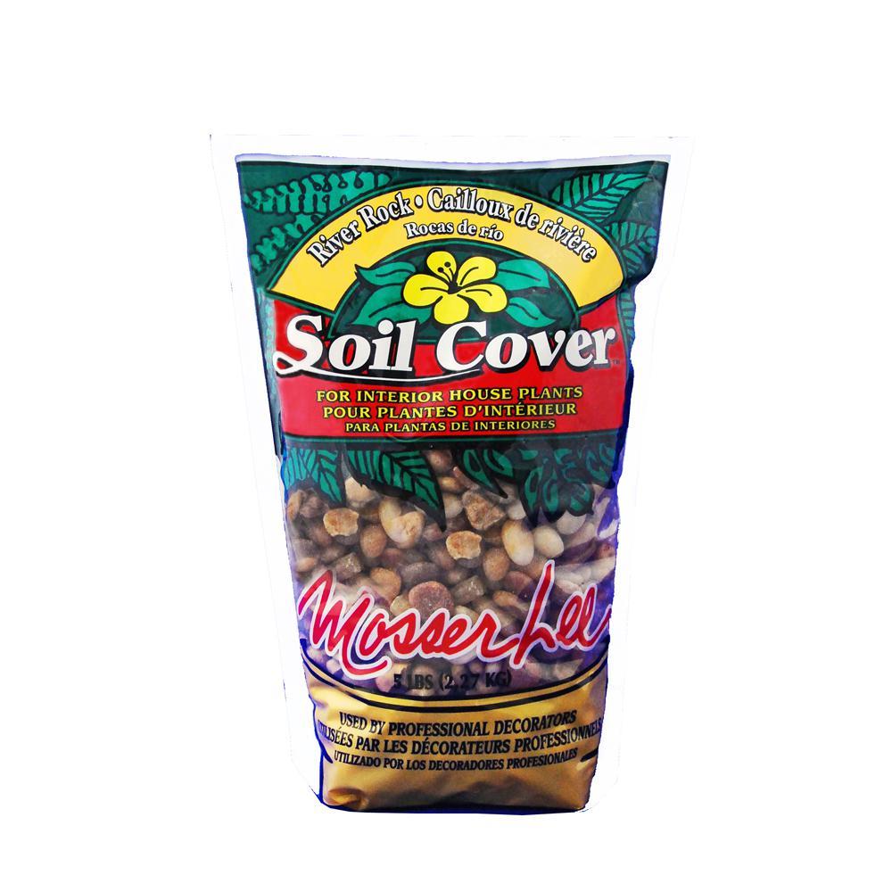 5 lbs. River Rock Soil Cover