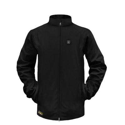 Men's X-Large Black Softshell 5-Volt Heated Jacket