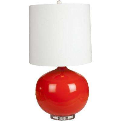 Mondovi 31.5 in. Orange Table Lamp
