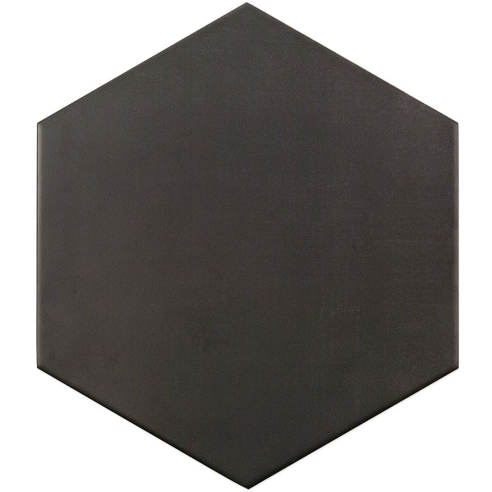 Ivy Hill Tile Dark Gray 9.875 in. x 11.375 in. x 10mm Matte Porcelain Floor and Wall Tile (18 pieces / 10.76 sq. ft. / box)