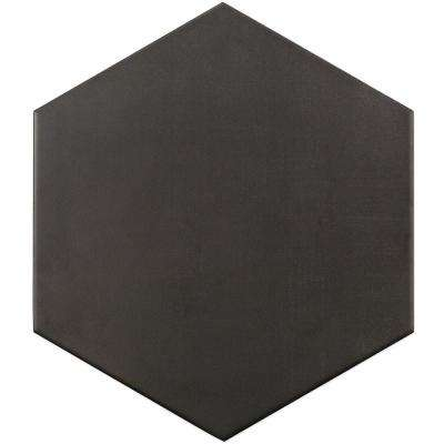Dark Gray 9.875 in. x 11.375 in. x 10mm Matte Porcelain Floor and Wall Tile (18 pieces / 10.76 sq. ft. / box)