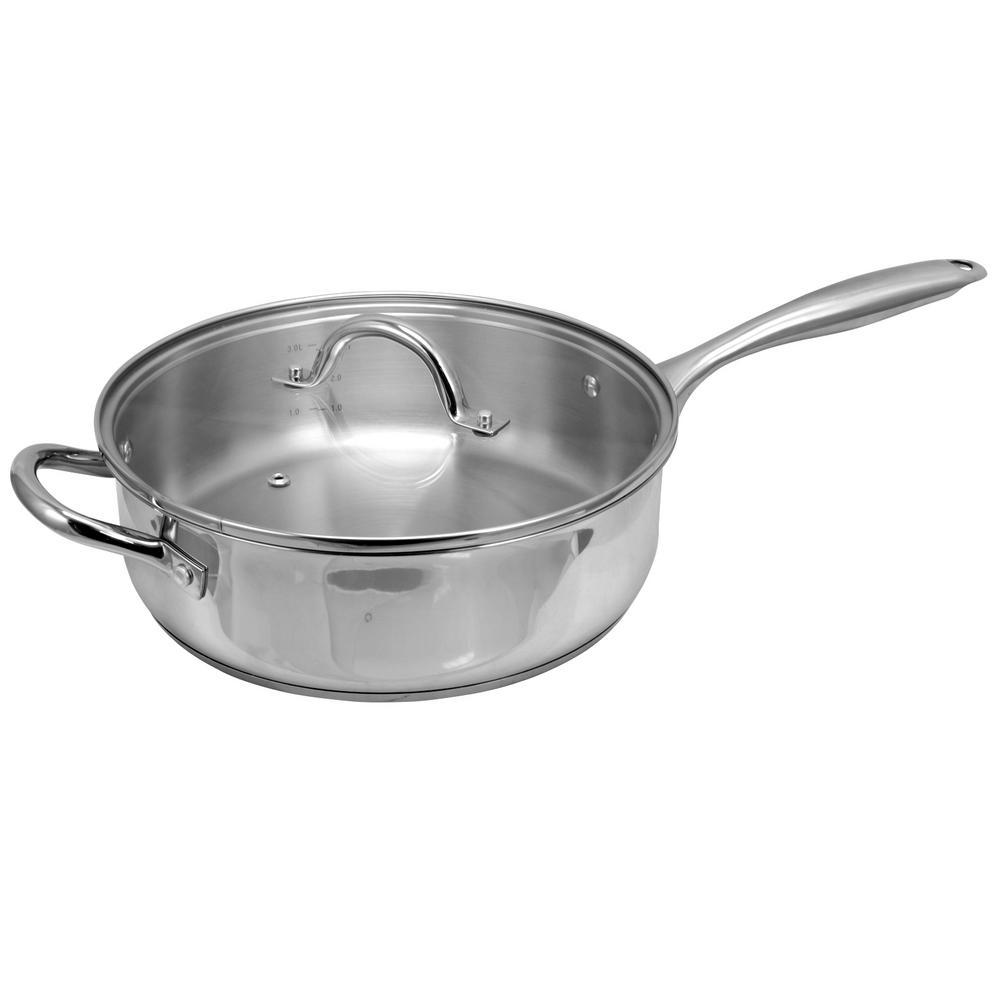 Saunders 4.2 Qt. Saute Pan with Lid