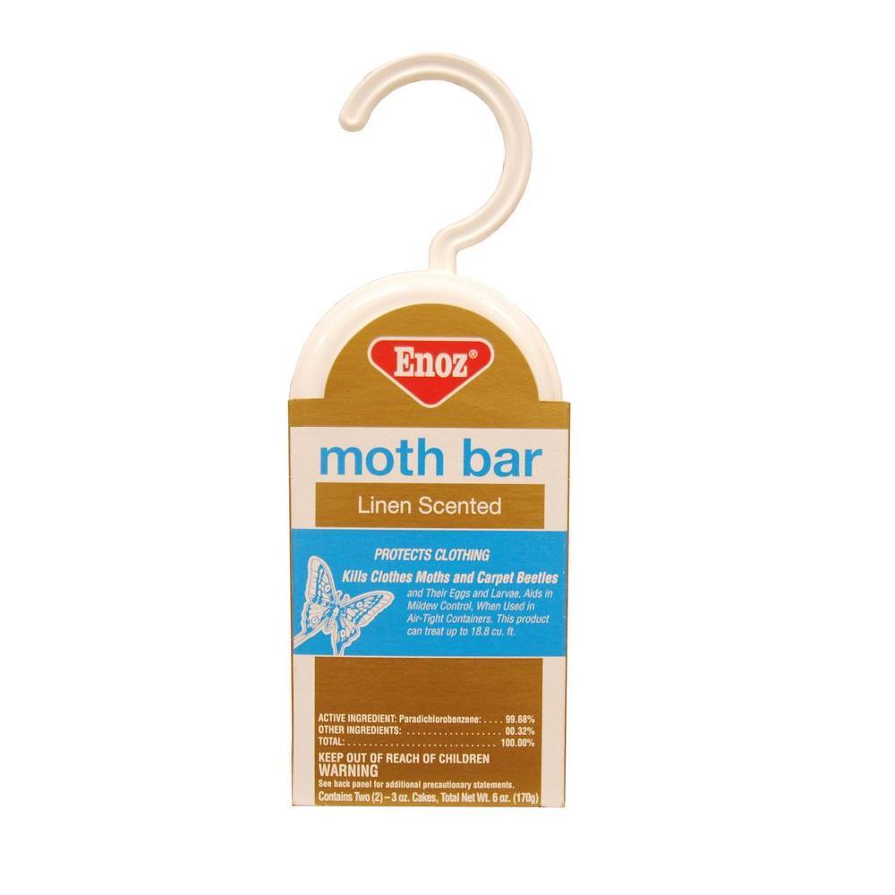6 oz. Linen Scented Moth Bar (3-Pack)
