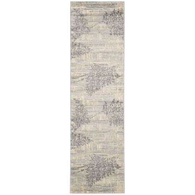 Utopia Champagne 2 ft. x 8 ft. Runner Rug