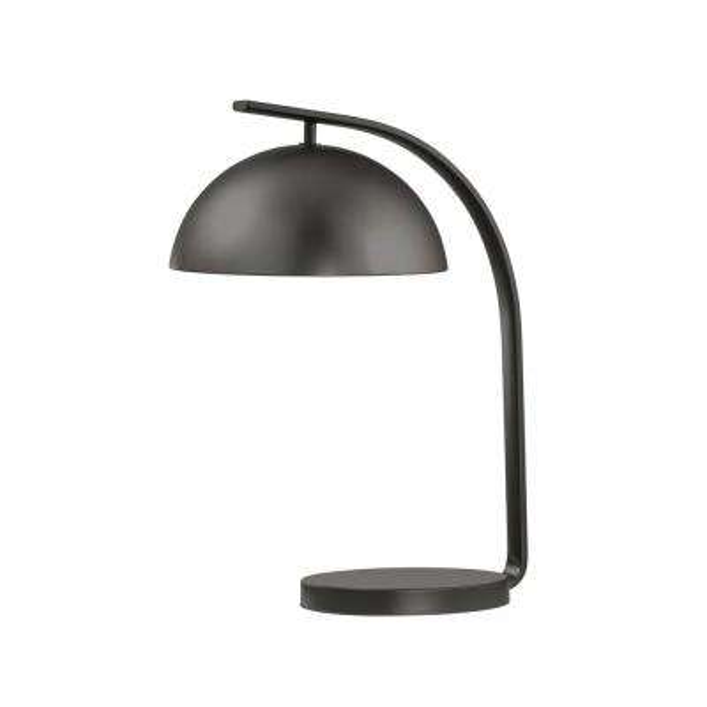 Domus 20 in. Gunmetal Table Lamp