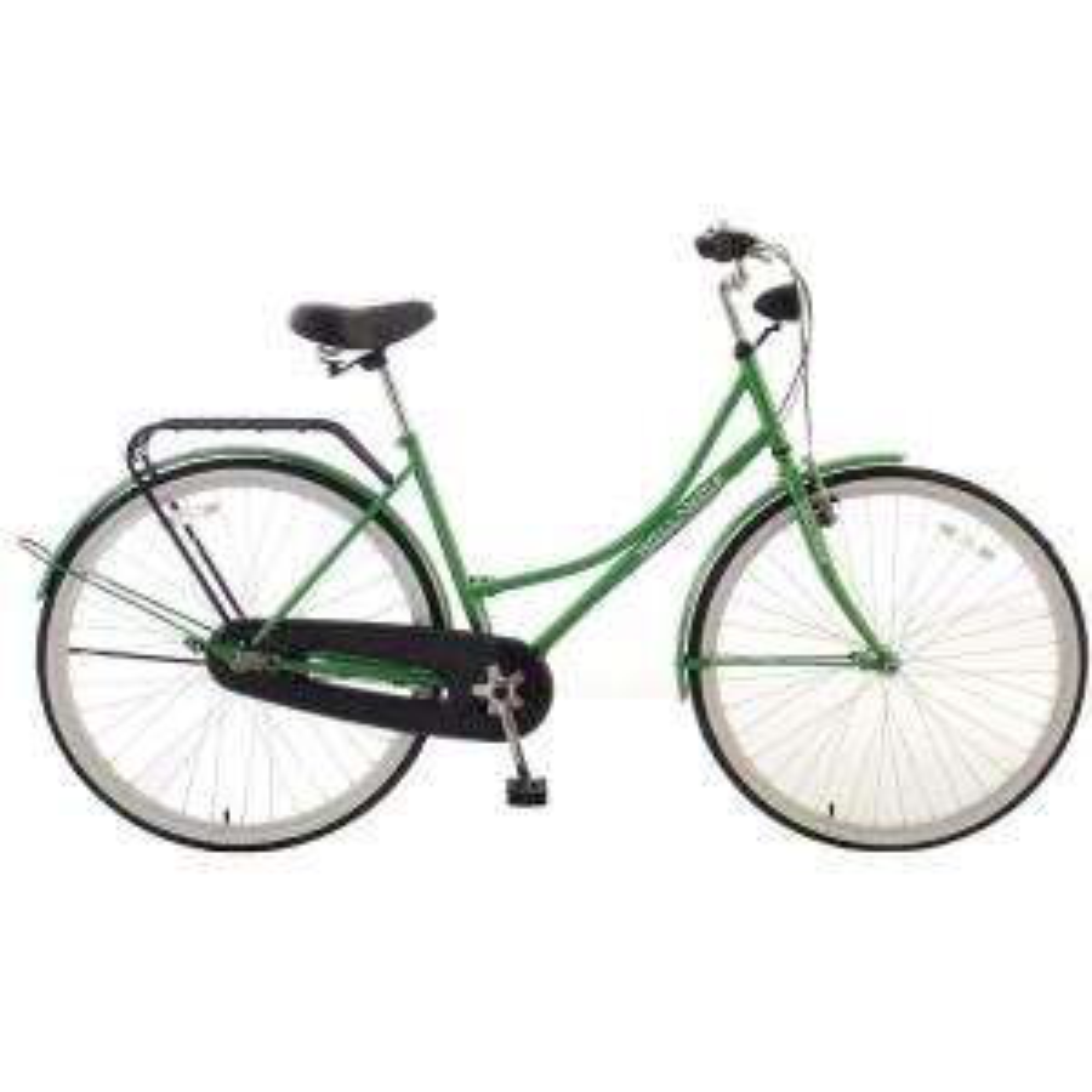 Hollandia Amsterdam F1 Dutch Cruiser Bicycle, 28 inch Wheels, 18 inch Frame, Women's Bike in Green by Hollandia