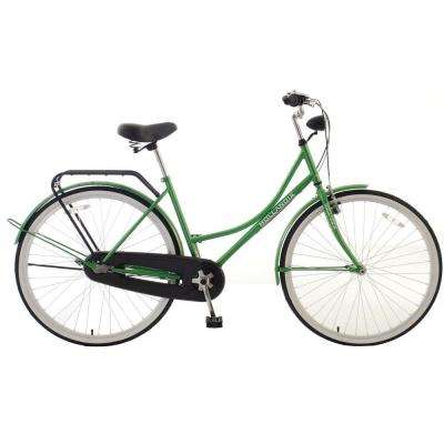 Amsterdam F1 Dutch Cruiser Bicycle, 28 in. Wheels, 18 in. Frame, Women's Bike in Green