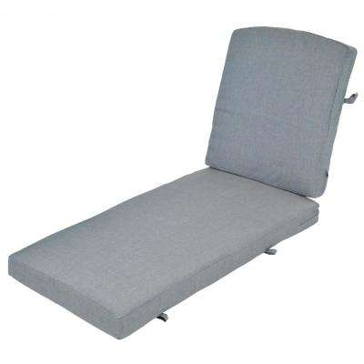 Oak Cliff Spa Replacement 2-Piece Outdoor Chaise Lounge Cushion