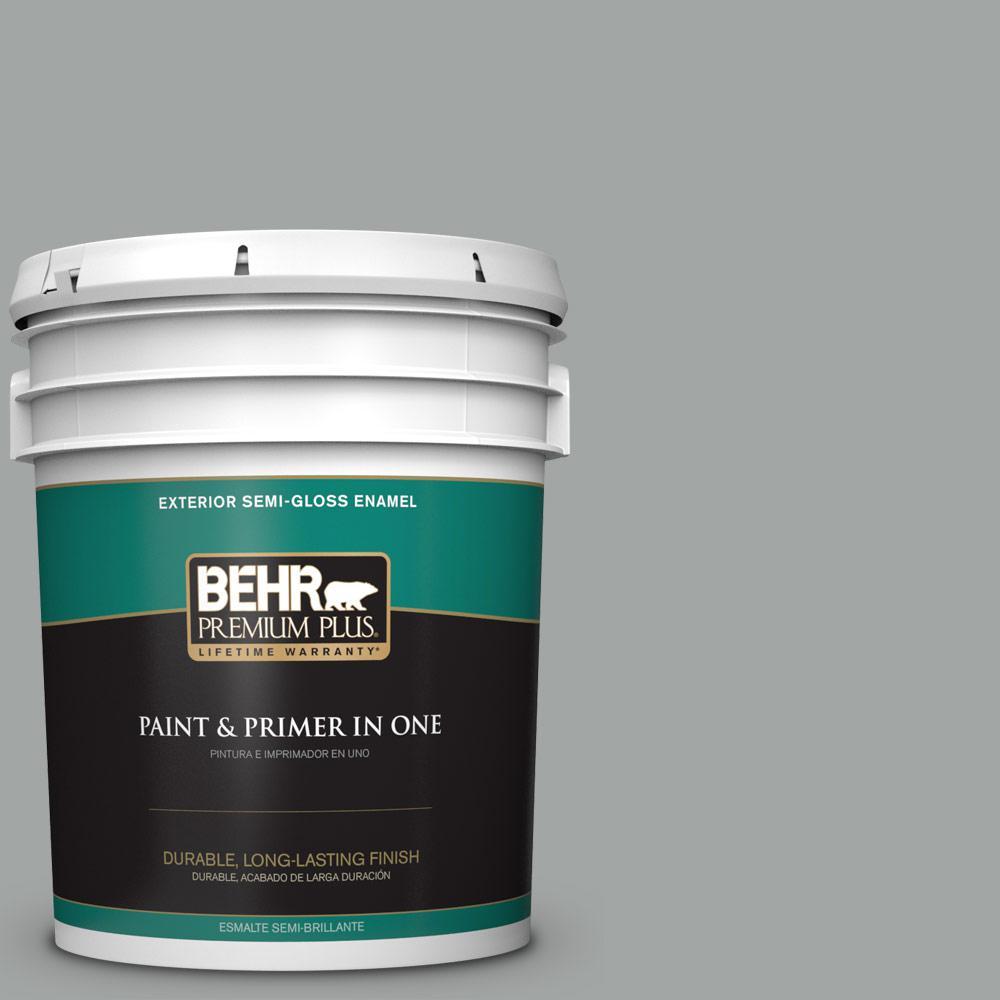 5 gal. #PPU25-16 Chain Reaction Semi-Gloss Enamel Exterior Paint