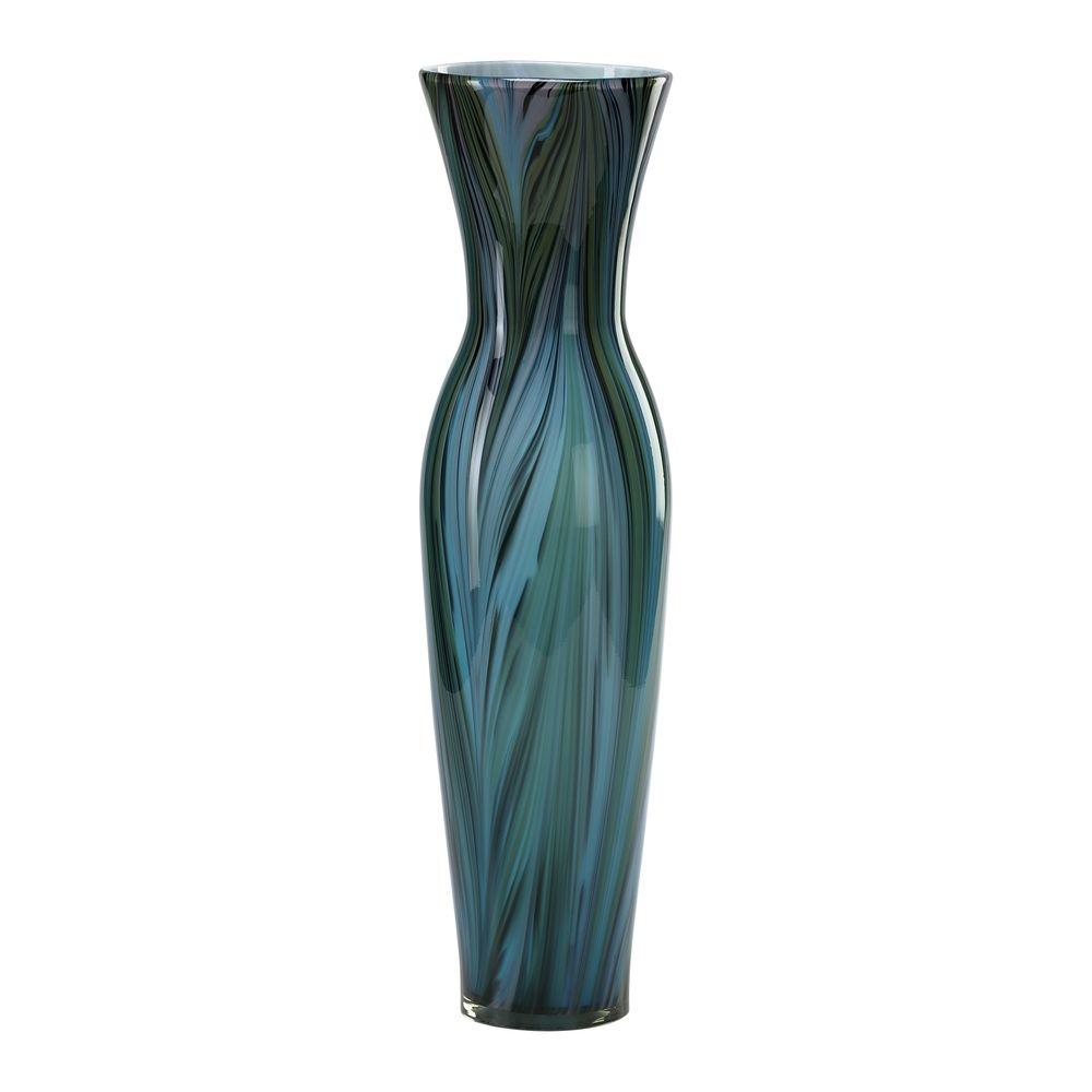 Filament Design Prospect 23.75 in. x 5 in. Brown And Smoke Vase