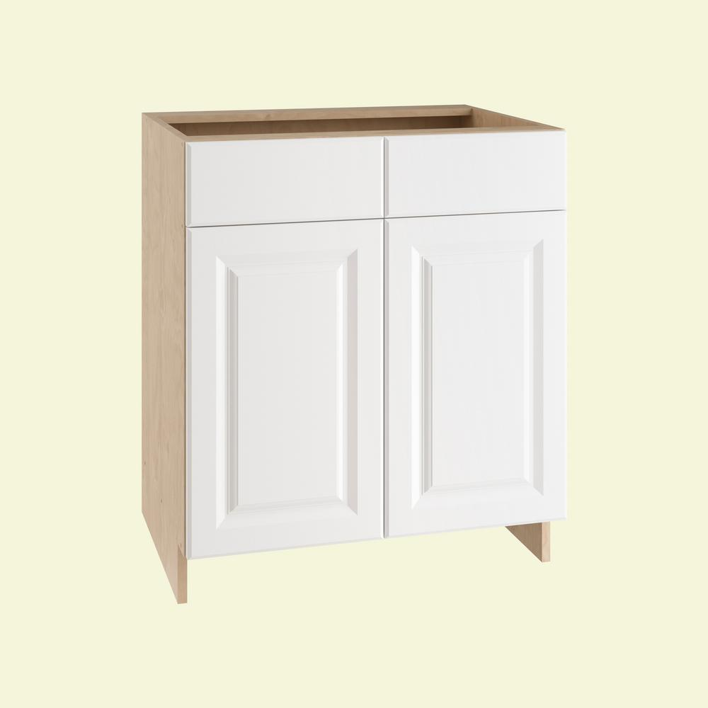30x34.5x24 in. Anzio Sink Base Cabinet with 2 Soft Close Doors