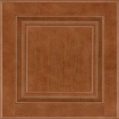 13 in. x 12-7/8 in. Cabinet Door Sample in Olmsted Maple Cognac