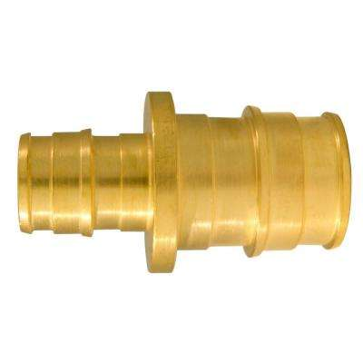1/2 in. x 3/4 in. Brass PEX-A Expansion Reducing Barb Coupling (5-Pack)