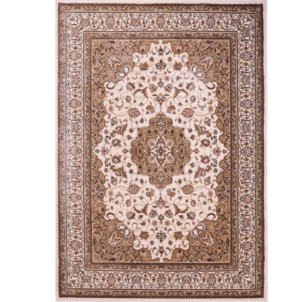 Home Dynamix Bazaar Trim Hd2412 Ivory 8 Ft X 10 Ft Indoor Area Rug