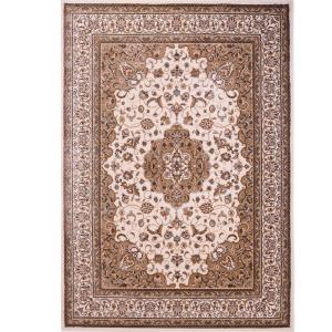 Home Dynamix Bazaar Trim HD2412 Ivory 7 ft. 10 inch x 10 ft. 1 inch Indoor Area Rug by Home Dynamix
