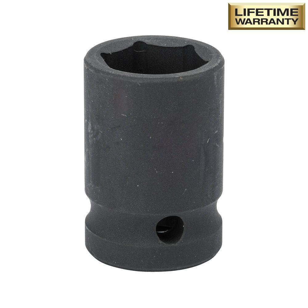 1/2 in. Drive 5/8 in. 6-Point Standard Impact Socket