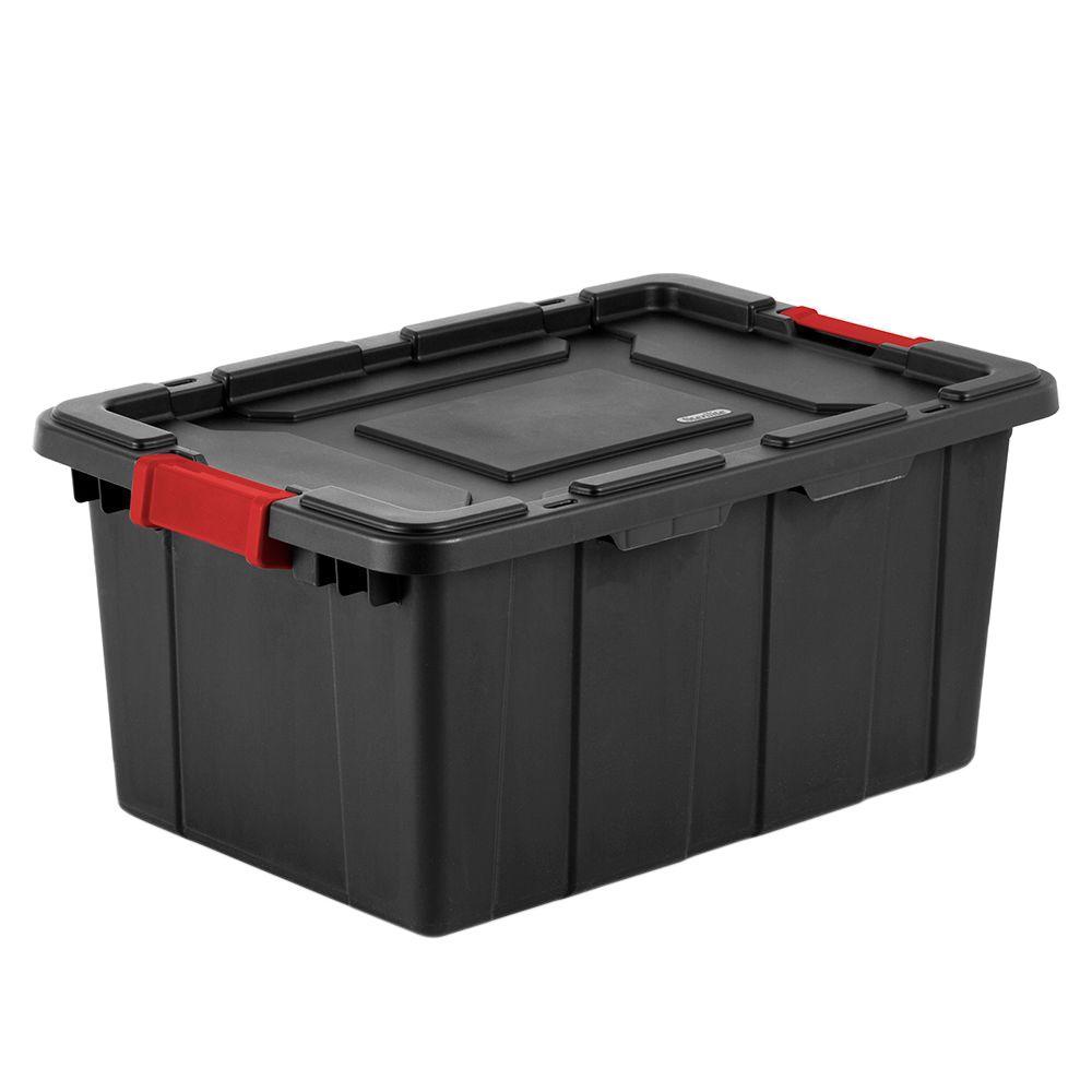 Sterilite 15 Gal. Industrial Storage Tote (6-Pack)