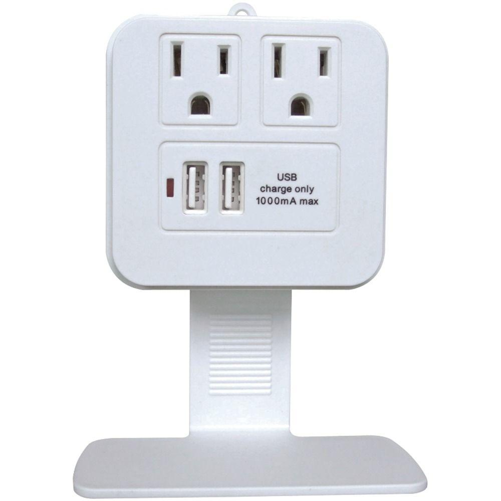 Duracell 4-Outlet Dual USB Charging Station