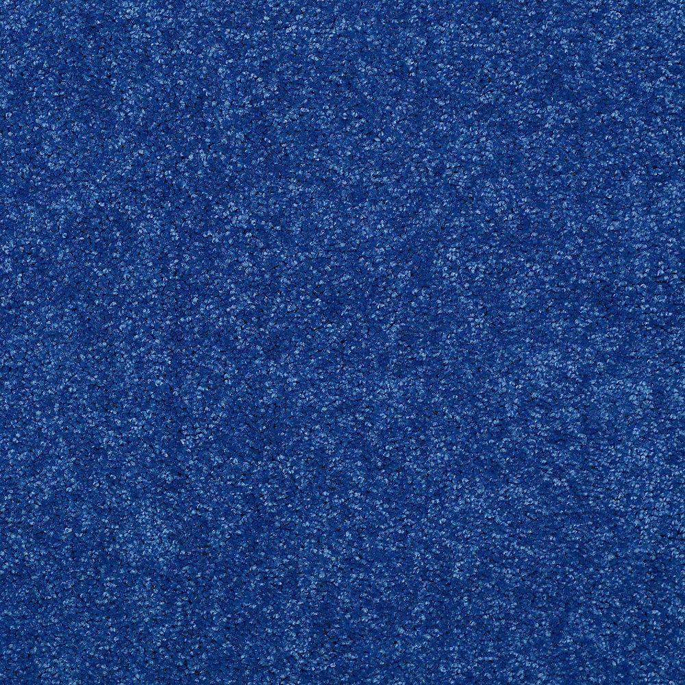 Carpet Sample - Watercolors II 12 - In Color Navy Texture 8 in. x 8 in.