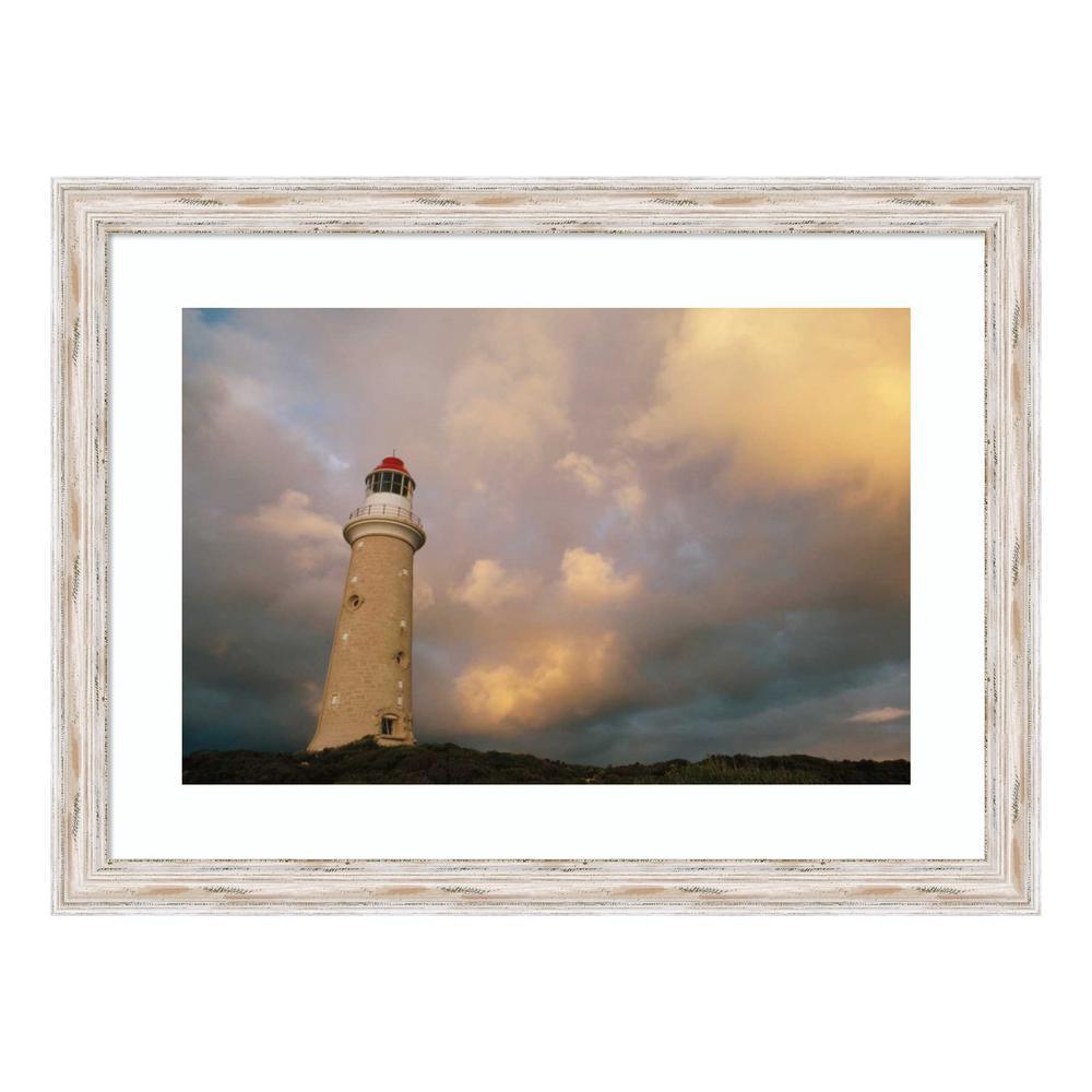 """""""Cape du Couedic lighthouse in Flinders Range NP, Kangaroo Island, Australia"""" by Gerry Ellis Framed Wall Art"""