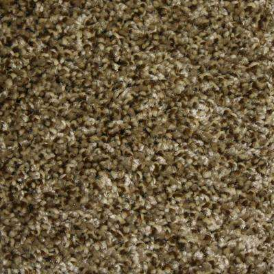 Carpet Sample - Stonewall I - Color Escape Texture 8 in. x 8 in.