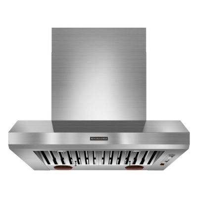 36 in. Range Hood in Stainless Steel (Blower Sold Separately)