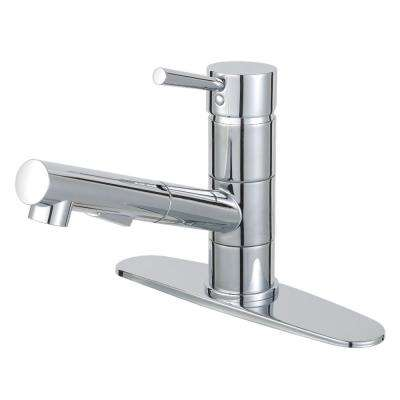 Concord Single-Handle Pull-Out Sprayer Kitchen Faucet in Polished Chrome