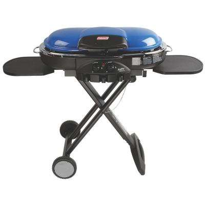 RoadTrip LXE 2 Burner Portable Propane Grill in Blue